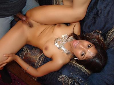 Chica india con perversiones en su mente