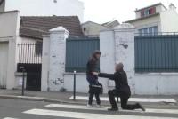 Francesa follada duro de un desconosido