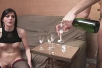 Orgia con champan