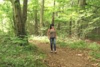 Caroline,una puta follada en el bosque