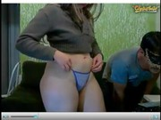 Milf en frente de la webcam